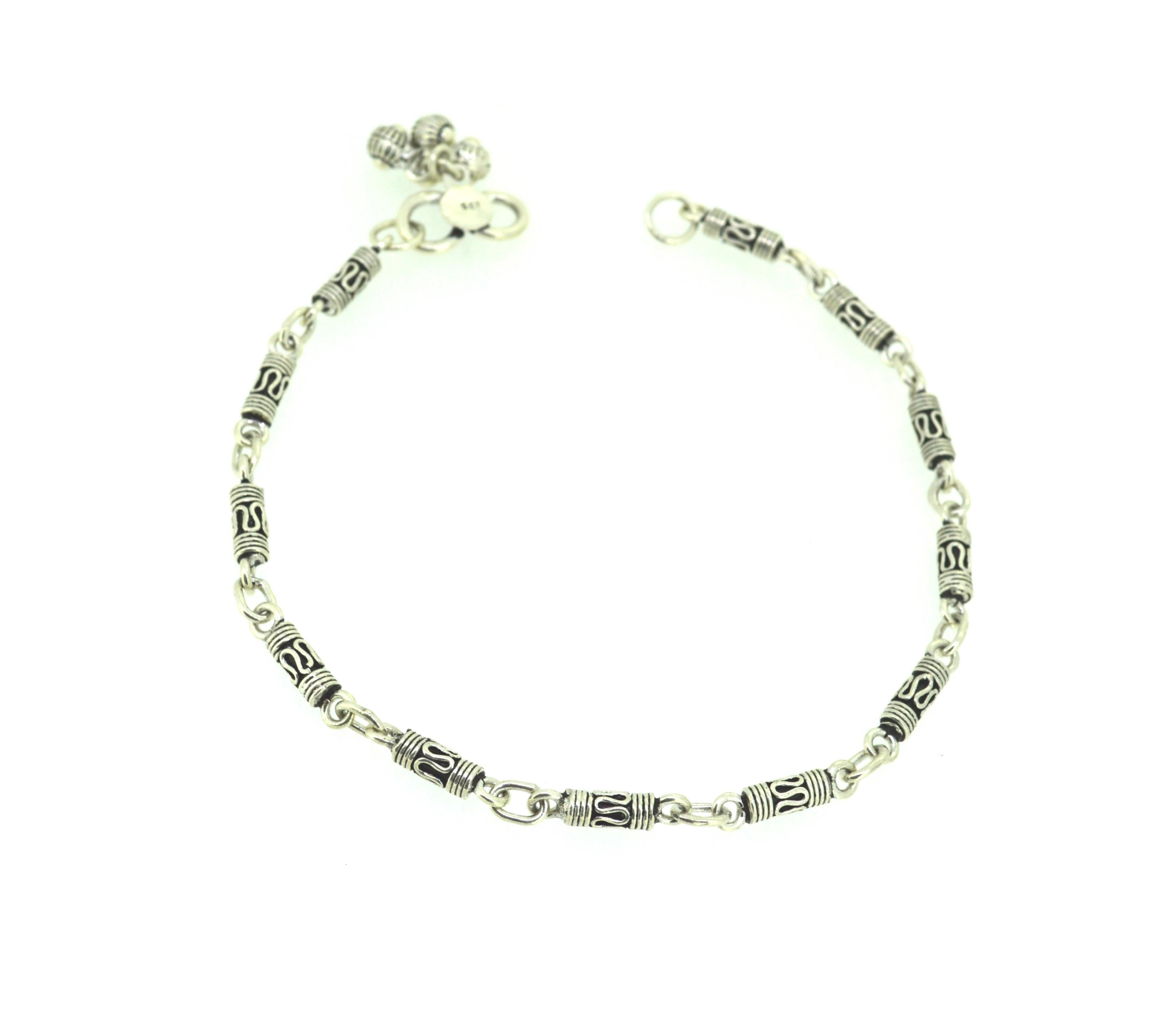 Designer beads chain anklet