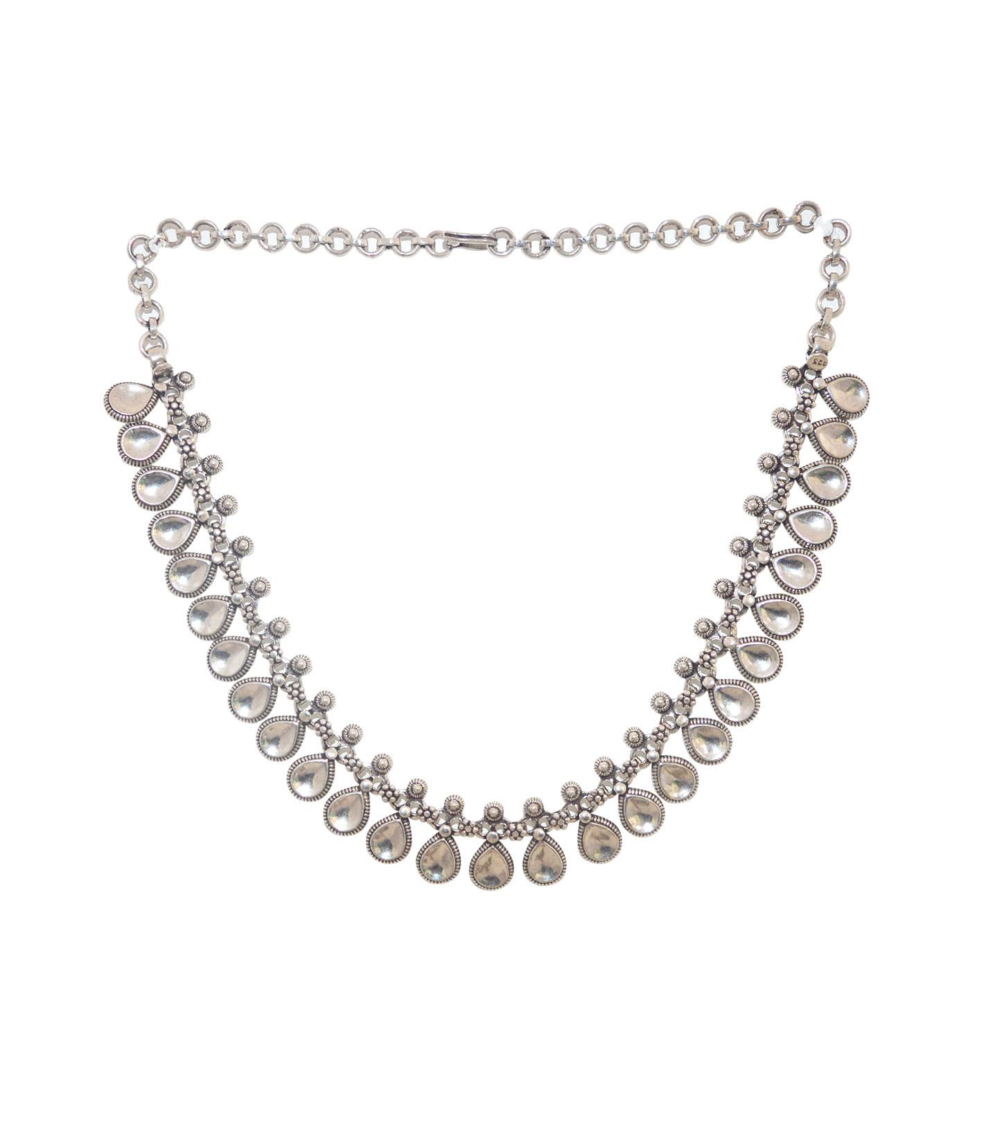 Elegant Oxidised Necklace