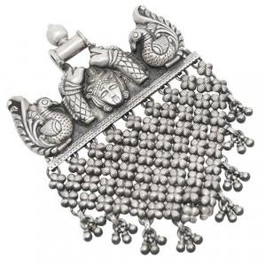 Goddess Kali Silver Pendant