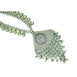 laxmi ganesha chatai necklace