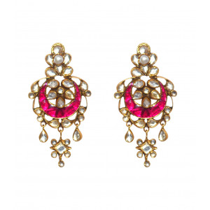 Traditional Gold Plated Earring