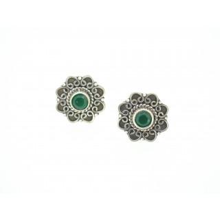 Designer cutstone earring