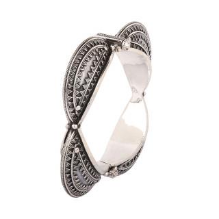 925 Sterling silver designer rawa bangle