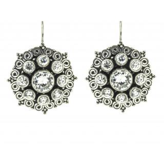 Handmade Zircon Stone Fashion Earrings