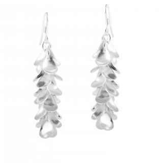 elegant hanging style handmade earrings in patel design