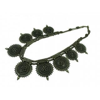 Round Rawa Pendant Necklace