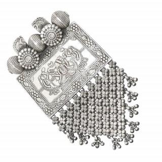 Gorgeous Silver Ganesh Pendant