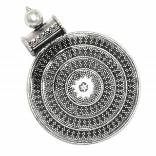 Rava Work Silver Pendant